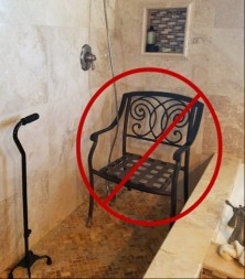 bad shower chair